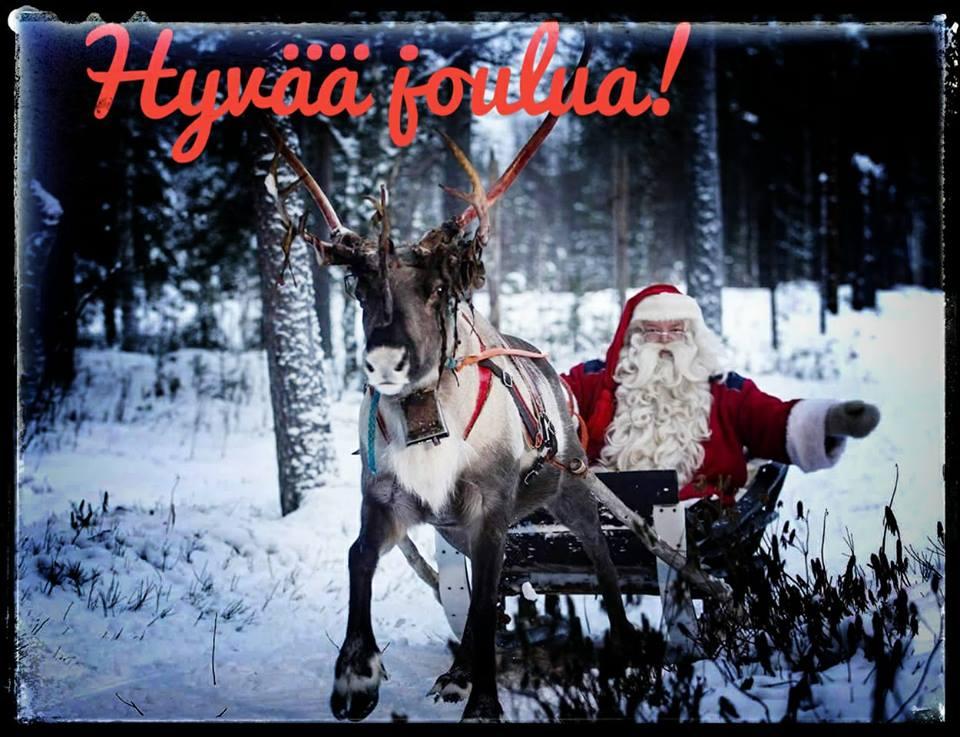Hyvää joulua! - Korvatunturi - Savukoski