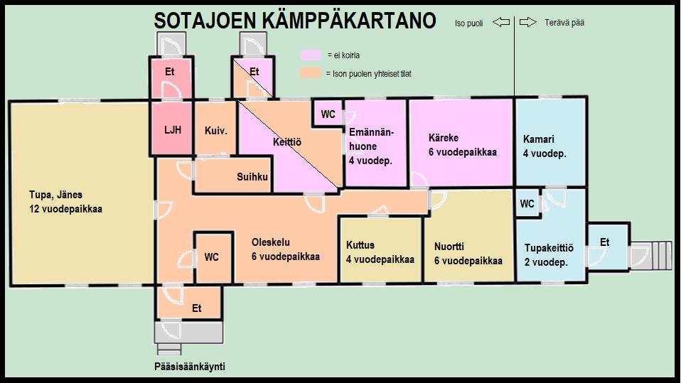 Sotajoen Kämppäkartano - Korvatunturi - Savukoski 1